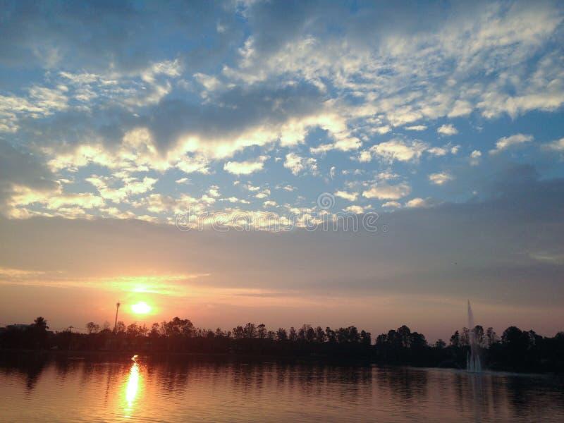 O lago morning fotos de stock royalty free