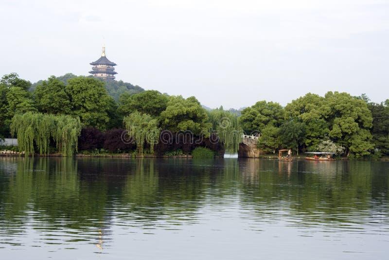 O lago ocidental romântico fotos de stock royalty free