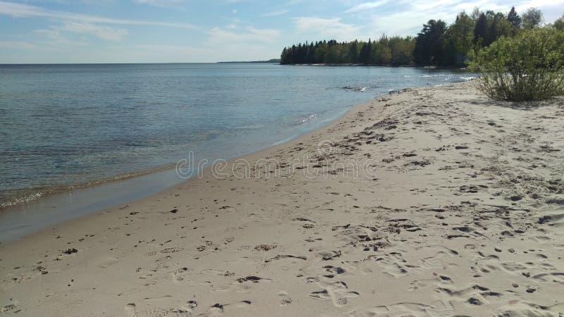 O Lago Superior fotografia de stock royalty free