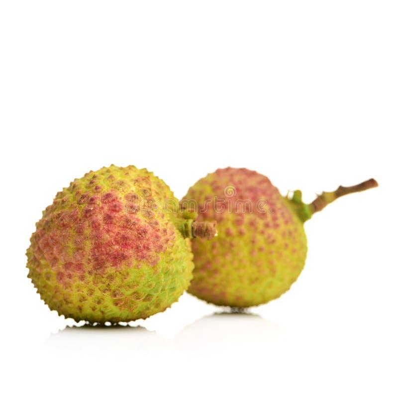 O lichi, o fruto caracterizado em China fotos de stock royalty free