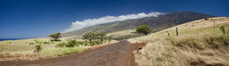 O litoral cênico da ilha de Maui, Havaí fotografia de stock royalty free