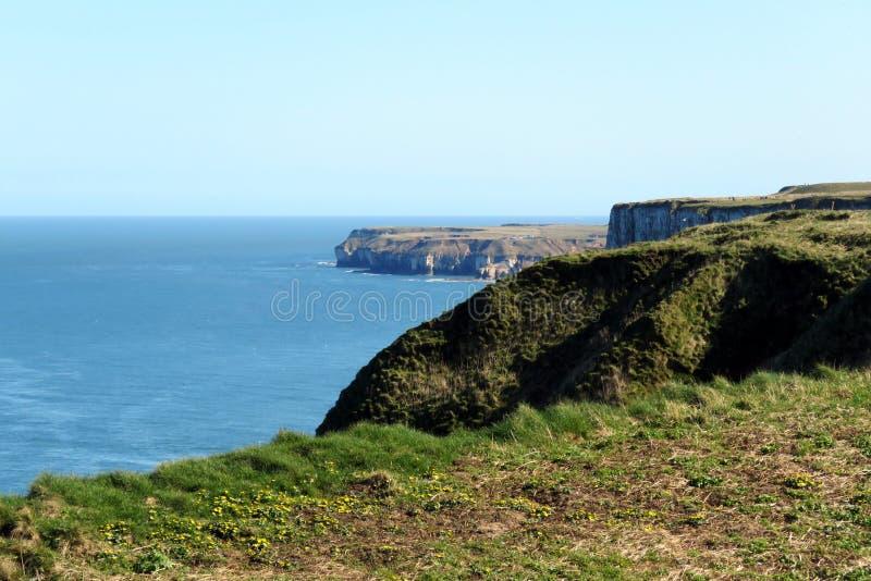 O litoral do leste de Yorkshire imagem de stock royalty free