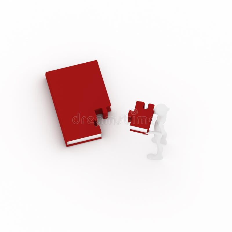 Download O livro gosta do enigma. ilustração stock. Ilustração de intelectual - 10058886