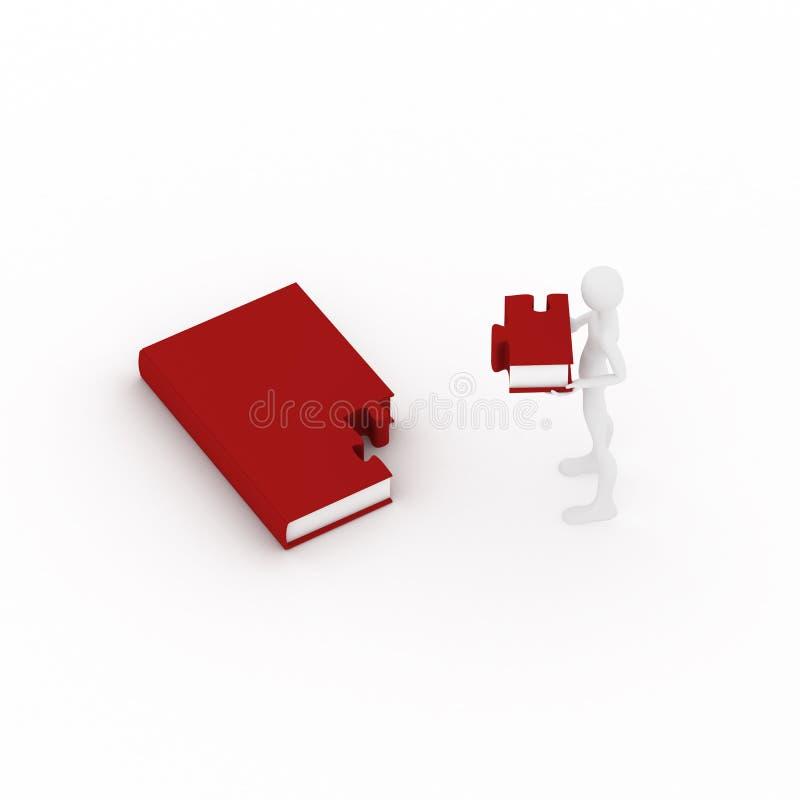 Download O livro gosta do enigma ilustração stock. Ilustração de unido - 10058999