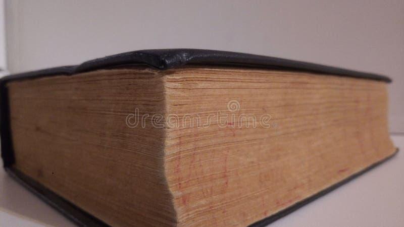 O livro velho fotografia de stock