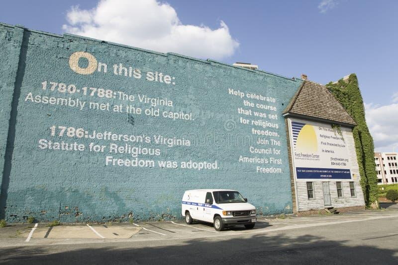 O Local Em Richmond Virginia Foto Editorial