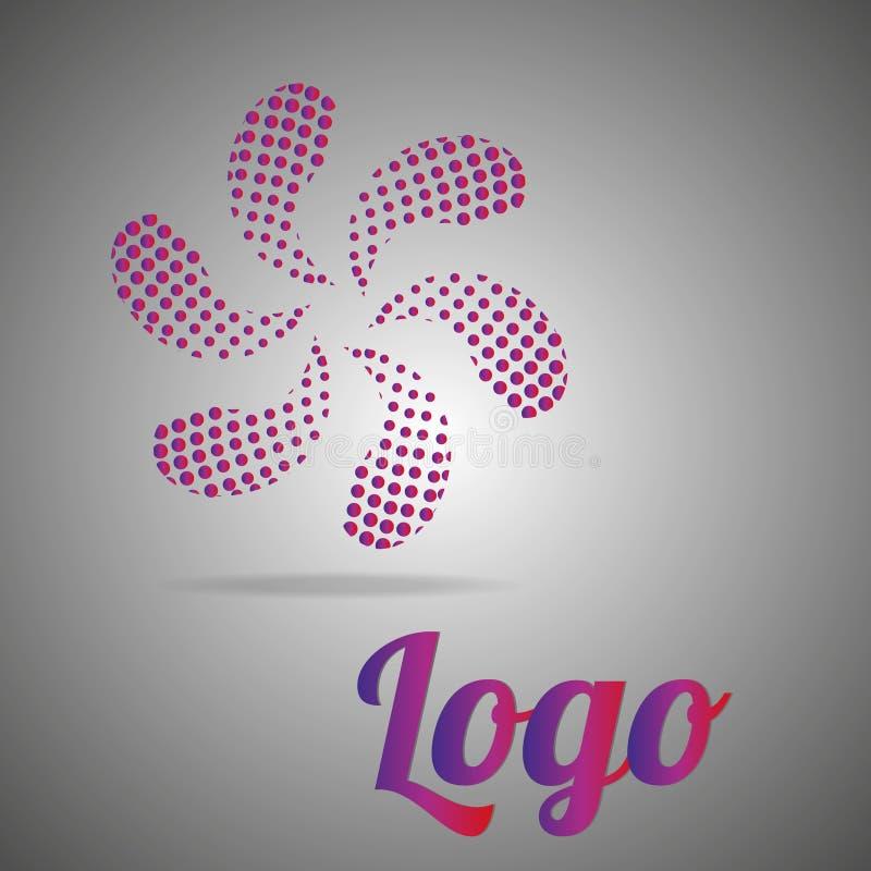 O logotipo é violeta