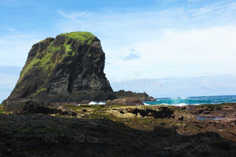 O lugar secreto em greenland do Oceano Pacífico fotografia de stock