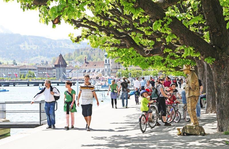 Luzern imagens de stock