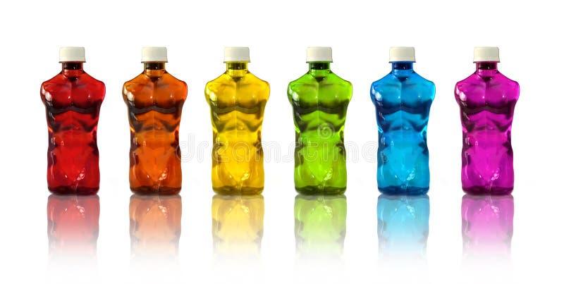 O músculo ostenta bebidas foto de stock royalty free