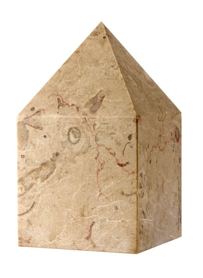 O maçônico de pedra cúbico foto de stock