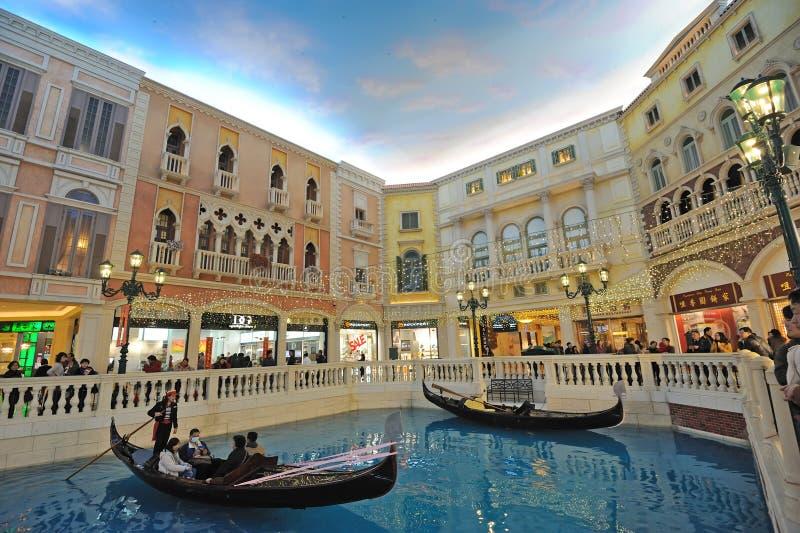 O Macao Venetian fotografia de stock