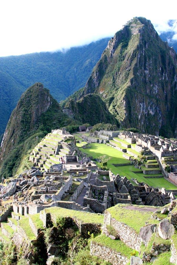 O Machu famoso Picchu fotos de stock royalty free