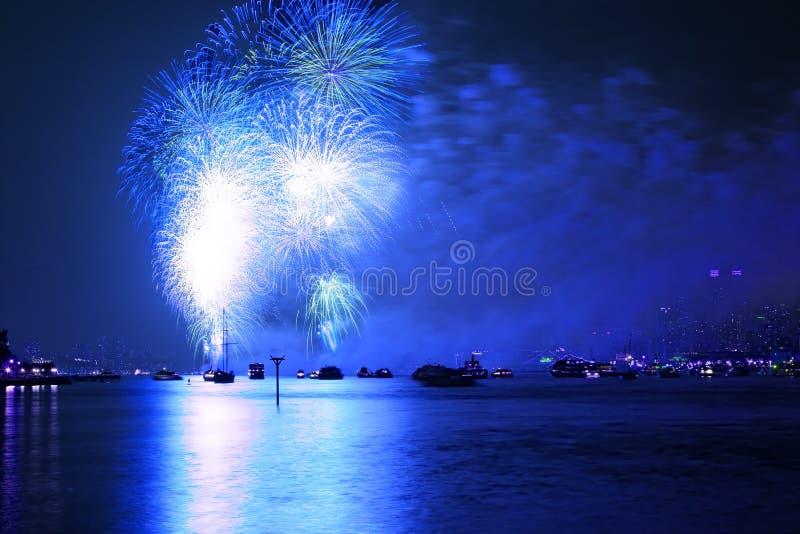O Macy ô de indicadores dos fogos-de-artifício de julho fotografia de stock