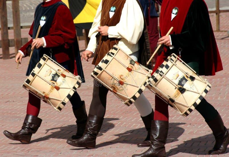 O mais fest medieval/cilindros foto de stock royalty free