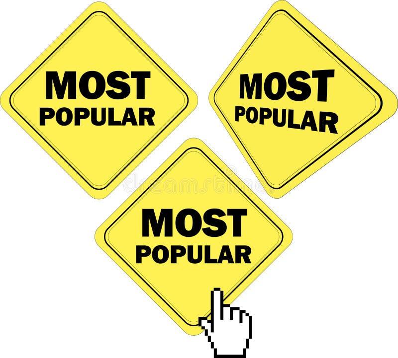 O mais popular ilustração royalty free