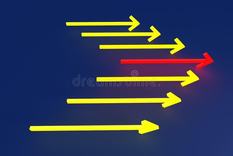 O mais rapidamente ilustração do vetor