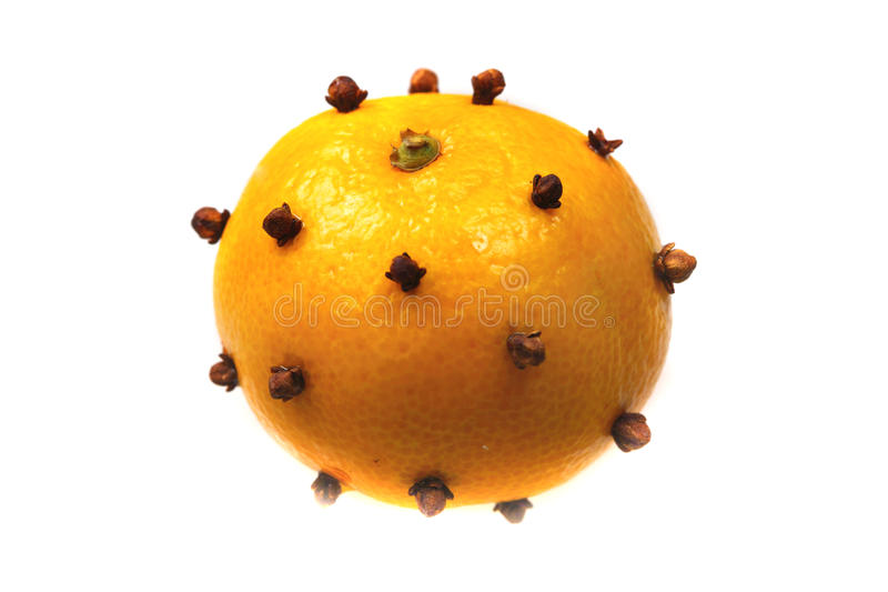 O mandarino - aromatizator imagens de stock royalty free