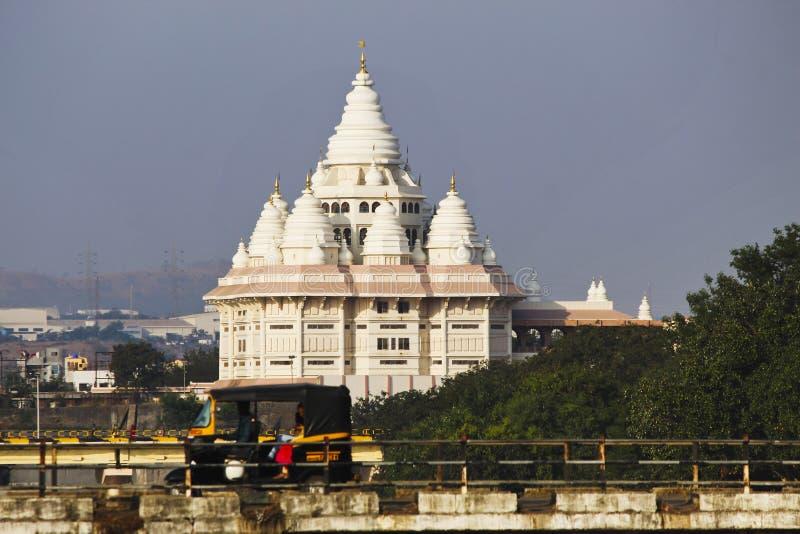 O mandir de Gatha, domicílio de Sant Tukaram honrou Saint do poeta, Dehu, Maharashtra, Índia foto de stock