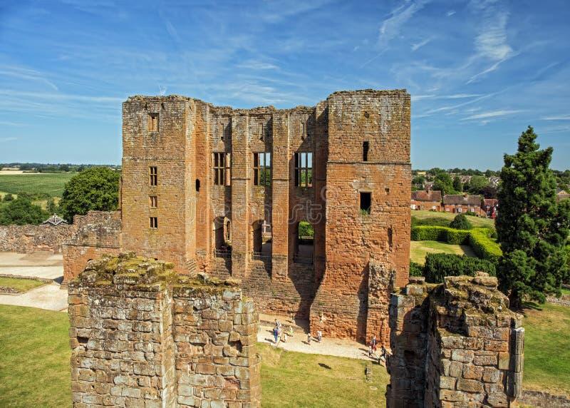O mantimento, castelo de Kenilworth, Warwickshire fotografia de stock