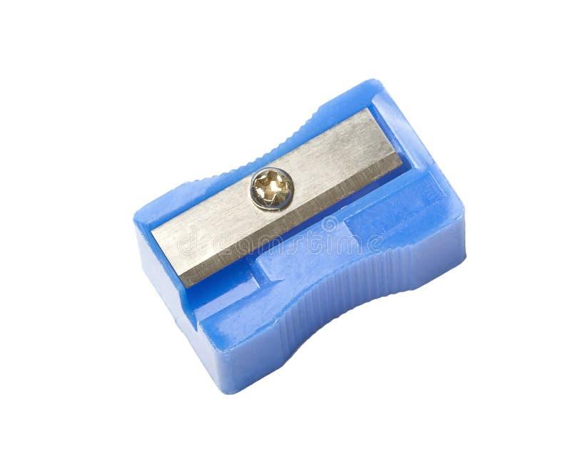 O manual corrige o sharpener, isolado fotografia de stock royalty free