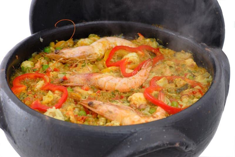 O mar frutifica arroz fotos de stock royalty free