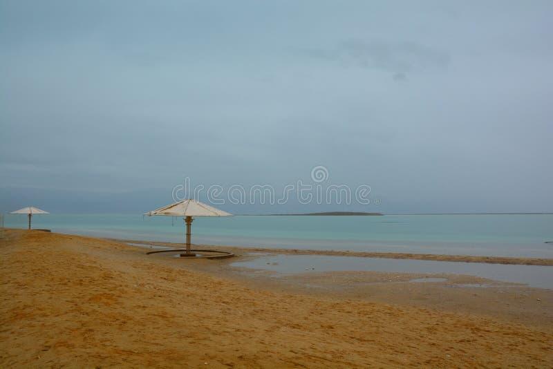 O Mar Morto foto de stock