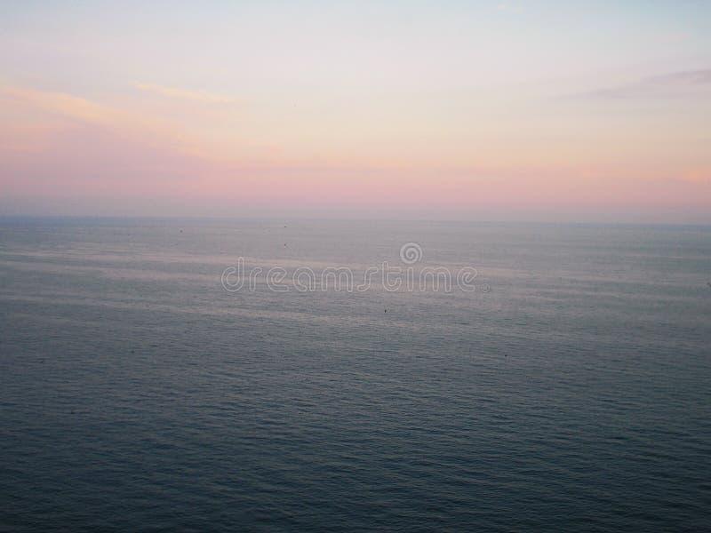 O Mar Negro bonito de Crimeia no verão foto de stock royalty free
