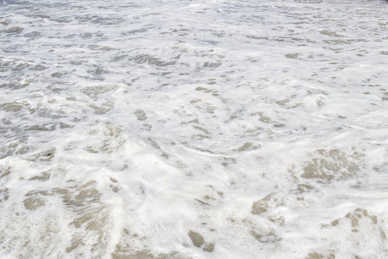 O Mar Negro Ondas do mar Sochi foto de stock