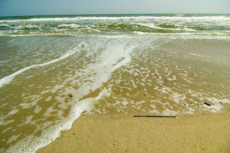 O Mar Negro romeno foto de stock royalty free