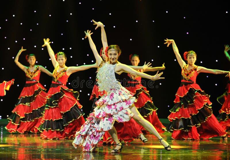 O matador Dance ---A dança nacional espanhola imagens de stock