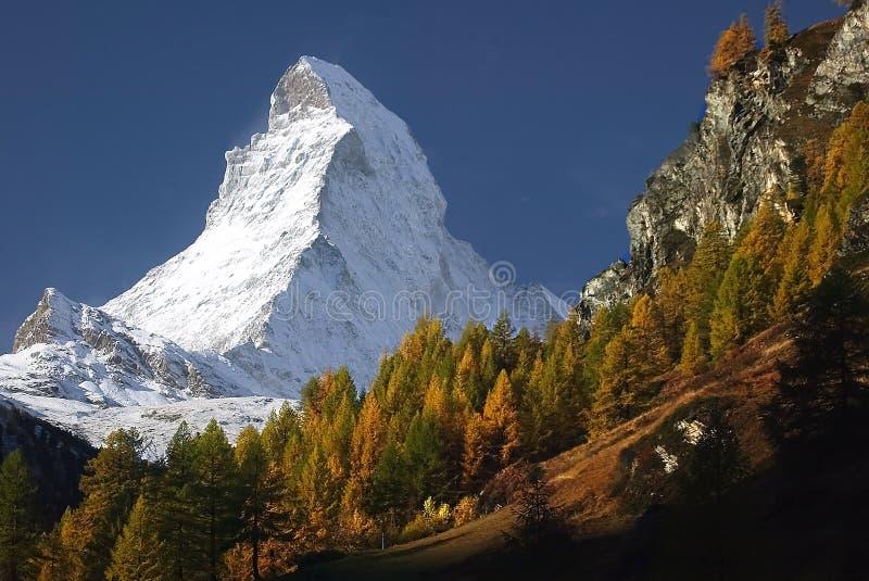 O Matterhorn imagens de stock