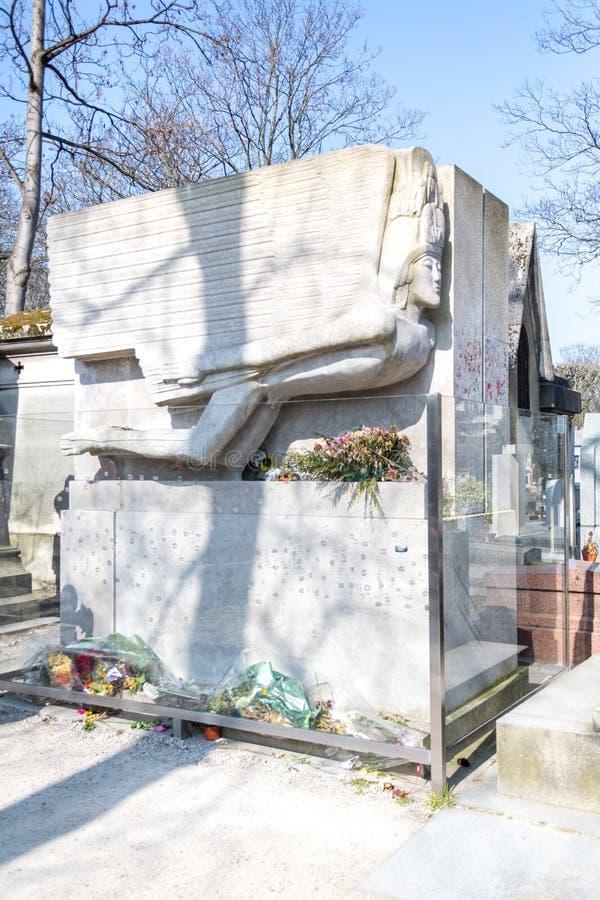 O mausoléu de Oscar Wilde foto de stock