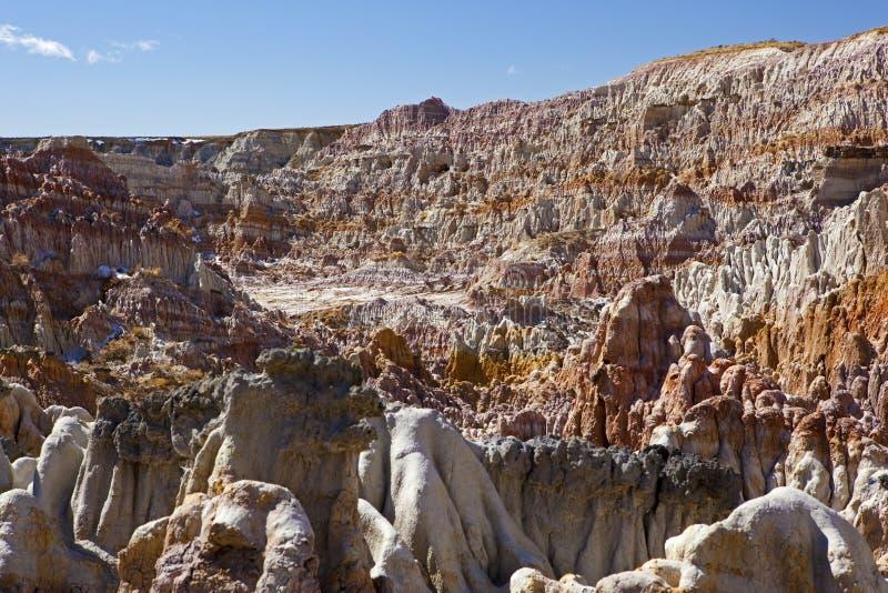 O meio acre do inferno de Wyoming fotos de stock royalty free