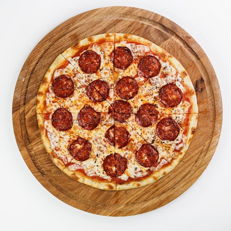 O melhor alimento do italiano da pizza imagem de stock