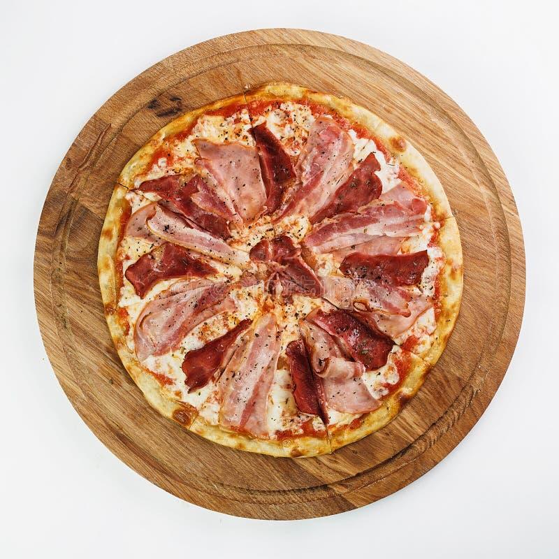 O melhor alimento do italiano da pizza foto de stock royalty free