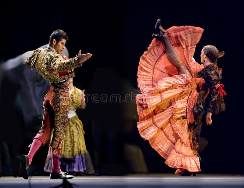 O melhor drama da dança do Flamenco fotografia de stock royalty free