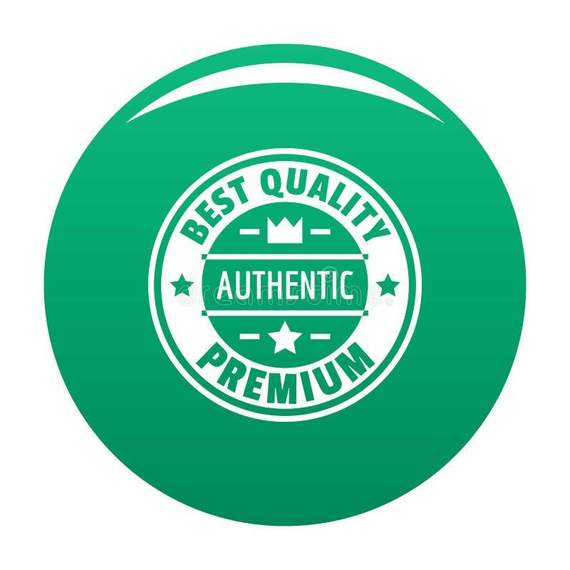 O melhor logotipo da qualidade, estilo simples ilustração royalty free