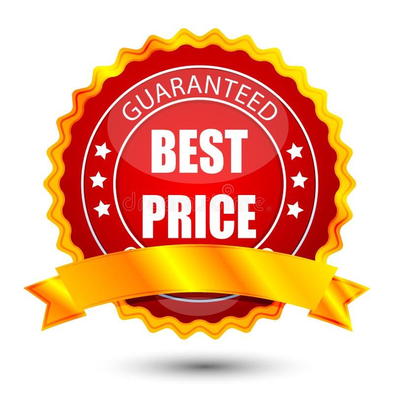 O melhor preço ilustração royalty free