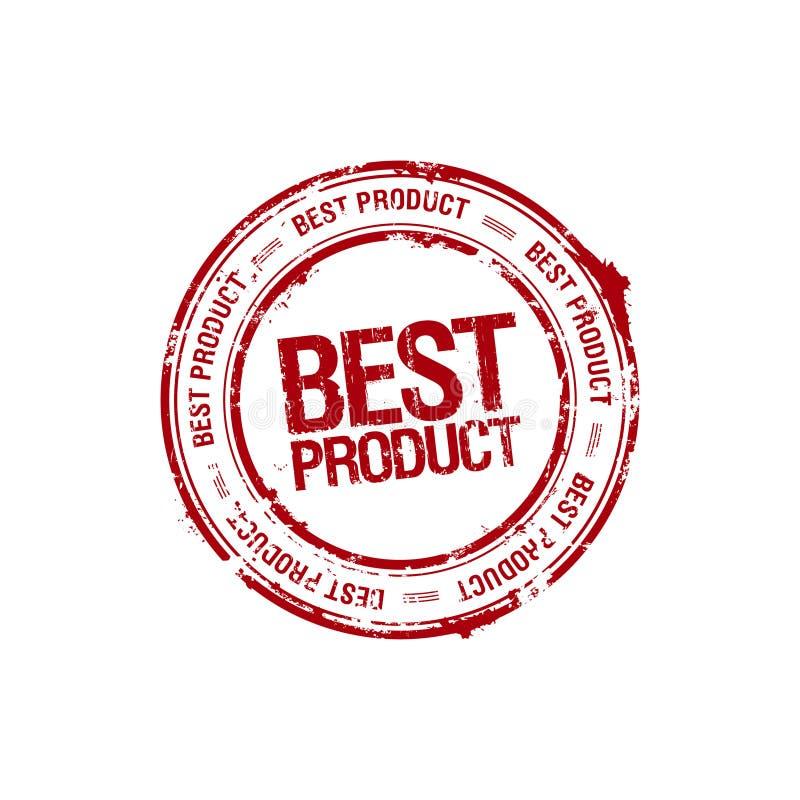 O melhor selo do líder de produto ilustração do vetor