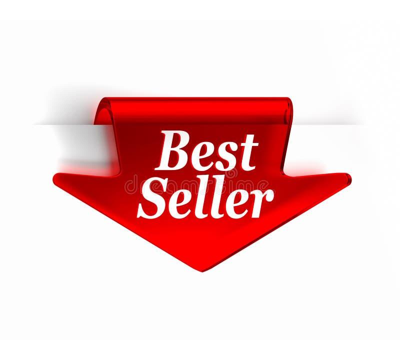 O melhor vendedor ilustração royalty free