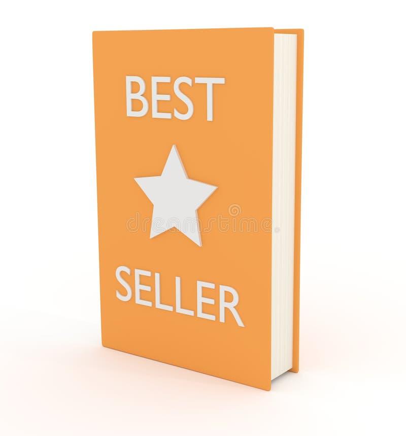 O melhor vendedor ilustração do vetor