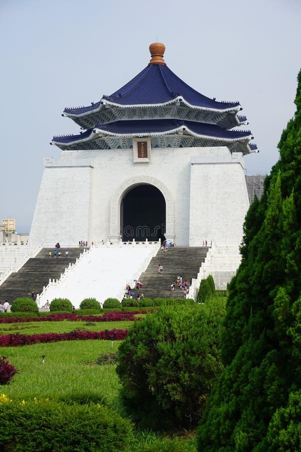O memorial de Chiang Kai-Shek fotografia de stock