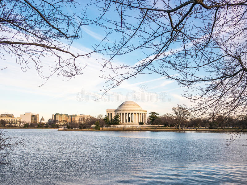 O memorial de Jefferson imagens de stock royalty free