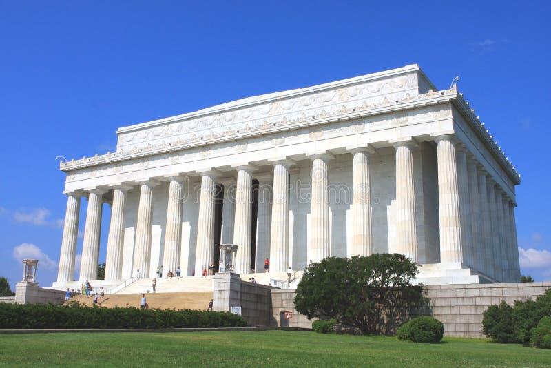 O memorial de Lincoln foto de stock