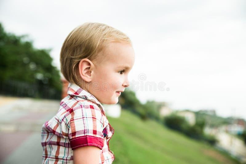 O menino da criança fotografia de stock royalty free