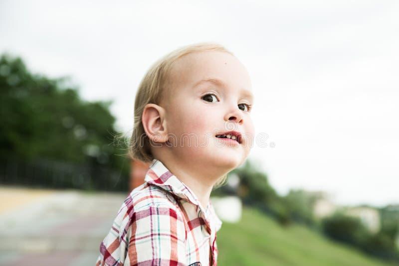 O menino da criança imagem de stock