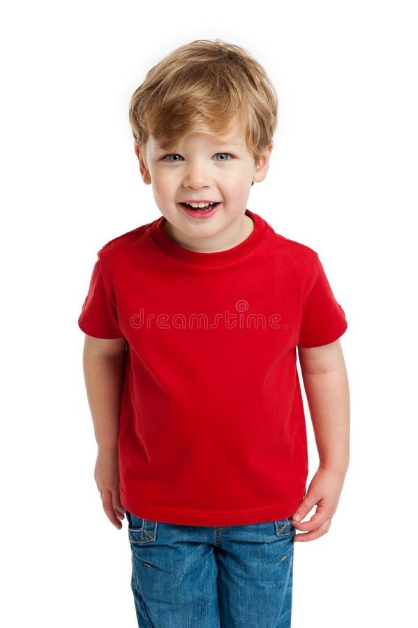 Vista bonito do menino fotografia de stock royalty free