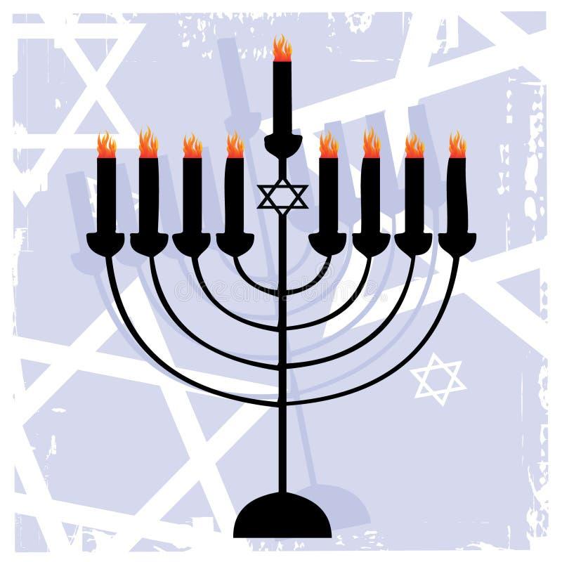 O Menorah judaico foto de stock