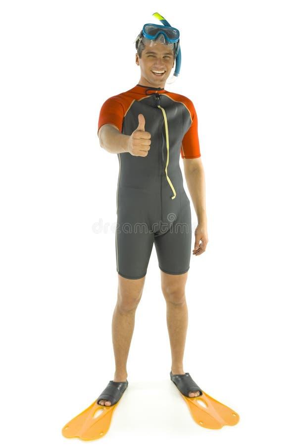 O mergulho é APROVADO. imagem de stock royalty free